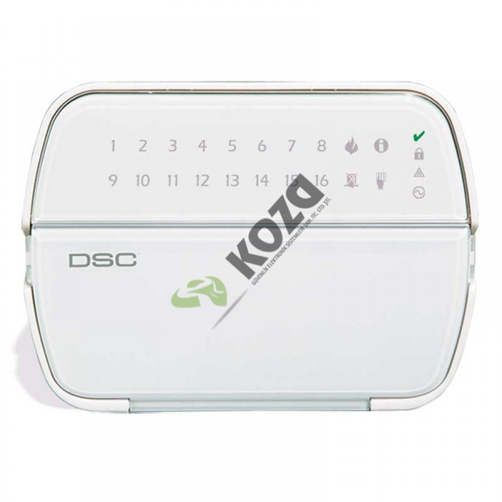 DSC PK 5516 16 Zone Led Şifre Paneli