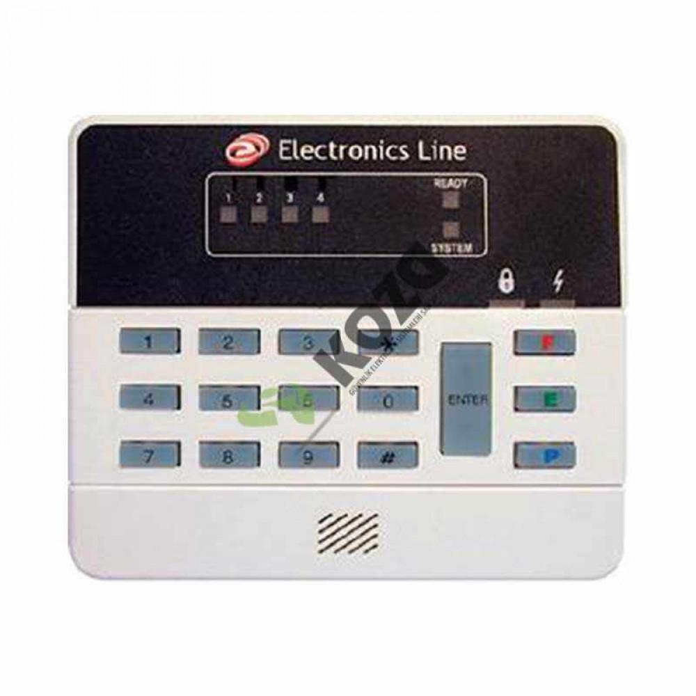 Electronics-Line 3104 PENTA XL 8 Zone Led Keypad