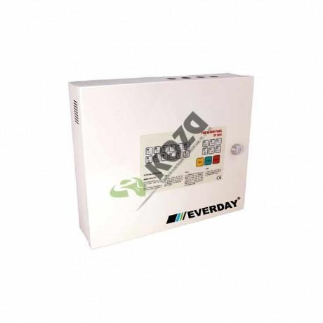 Everday YP-3006 6 Bölgeli Yangın Paneli (Metal Kutu)