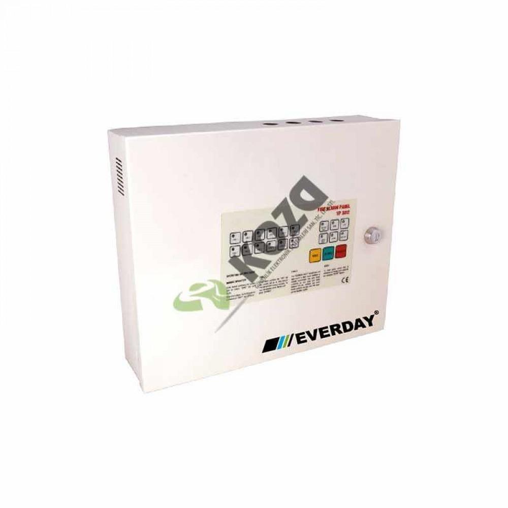 Everday YP-3012 12 Bölgeli Yangın Paneli (Metal Kutu)