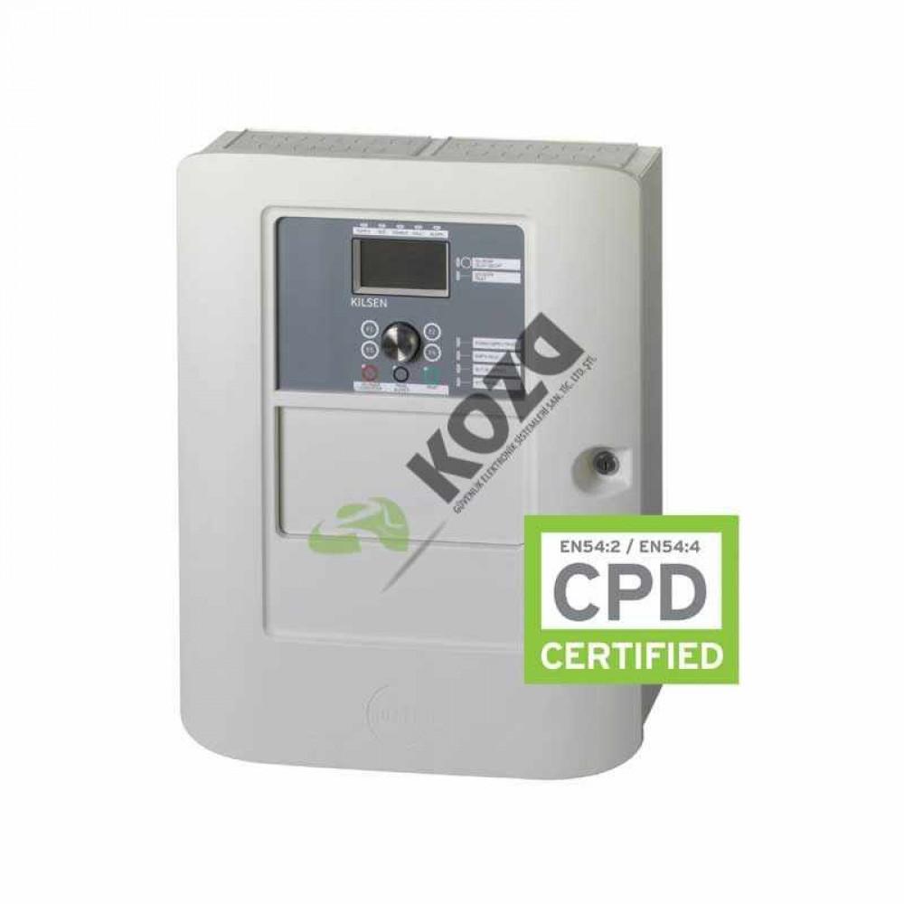 Kilsen KFP-AF1-19 1 Looplu Adresli Yangın Kontrol Paneli