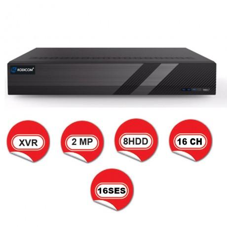 Kodicom KD-2716TD-C / 1080p 16 Kanal XVR 5 IN 1 Hibrit Kayıt Cihazı