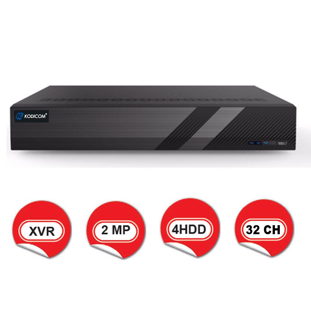 Kodicom KD-2732TC-C / 1080p 32 Kanal XVR 5 IN 1 Hibrit Kayıt Cihazı