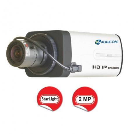 Kodicom KD-9322M2 2 Megapiksel 1080p StarLight Box IP Kamera