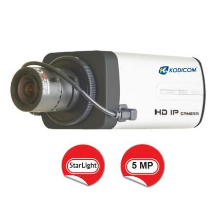 Kodicom KD-9352M2 5 Megapiksel StarLight Box IP Kamera