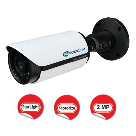 Kodicom KD-9423M2/AZ 2 Megapiksel 1080p StarLight Bullet IP Kamera