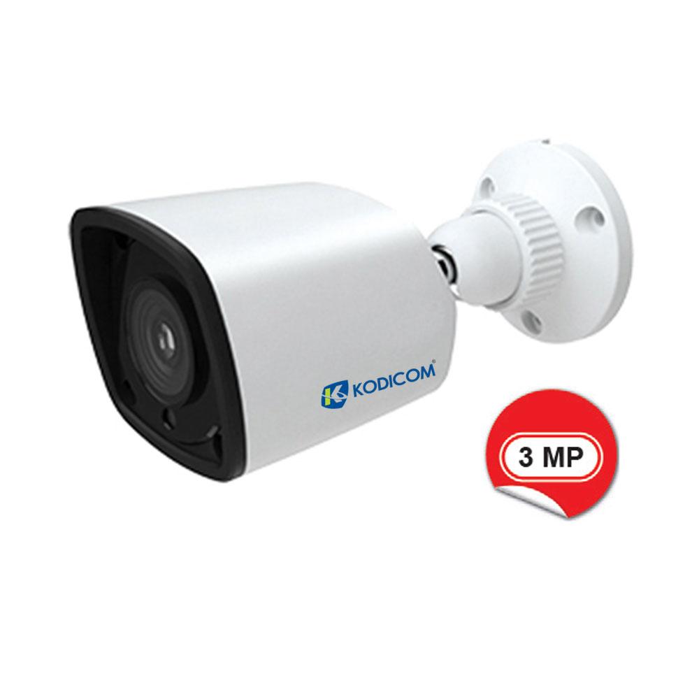 Kodicom KD-9431S1 3 Megapiksel IR Bullet IP Kamera