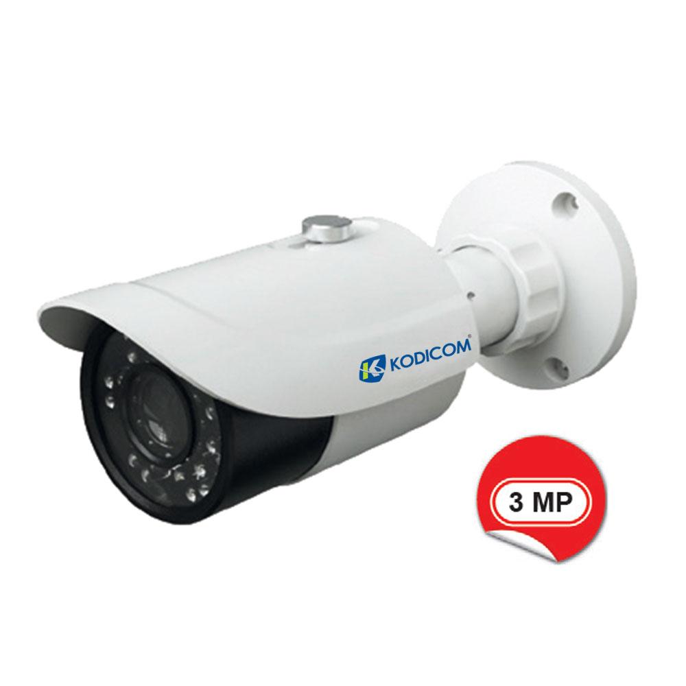 Kodicom KD-9432S1-FZ 3 Megapiksel IR Bullet IP Kamera