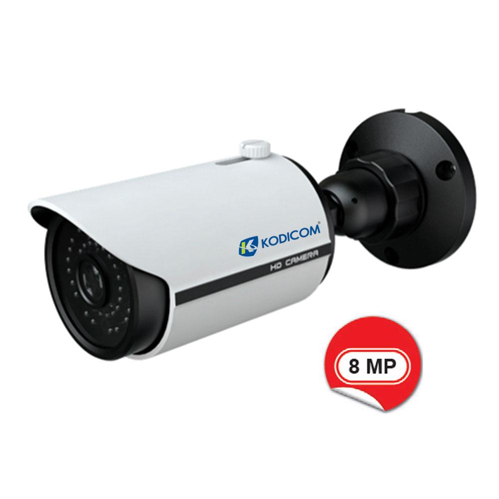 Kodicom KD-9482E2 8 Megapiksel IR Bullet IP Kamera