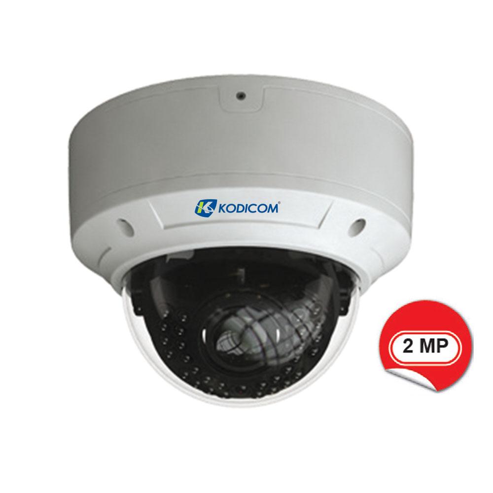 Kodicom KD-9520E2 2 Megapiksel 1080p IR Dome IP Kamera