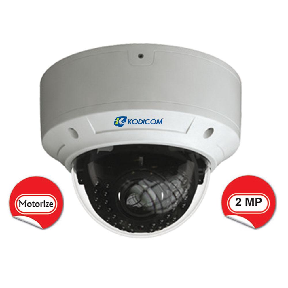 Kodicom KD-9523E2/AZ 2 Megapiksel 1080p Motorize Dome IP Kamera