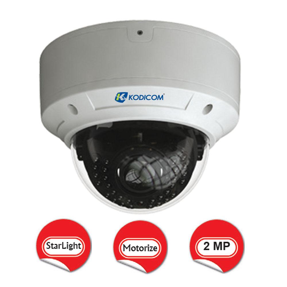 Kodicom KD-9523M2/AZ 2 Megapiksel 1080p StarLight Dome IP Kamera