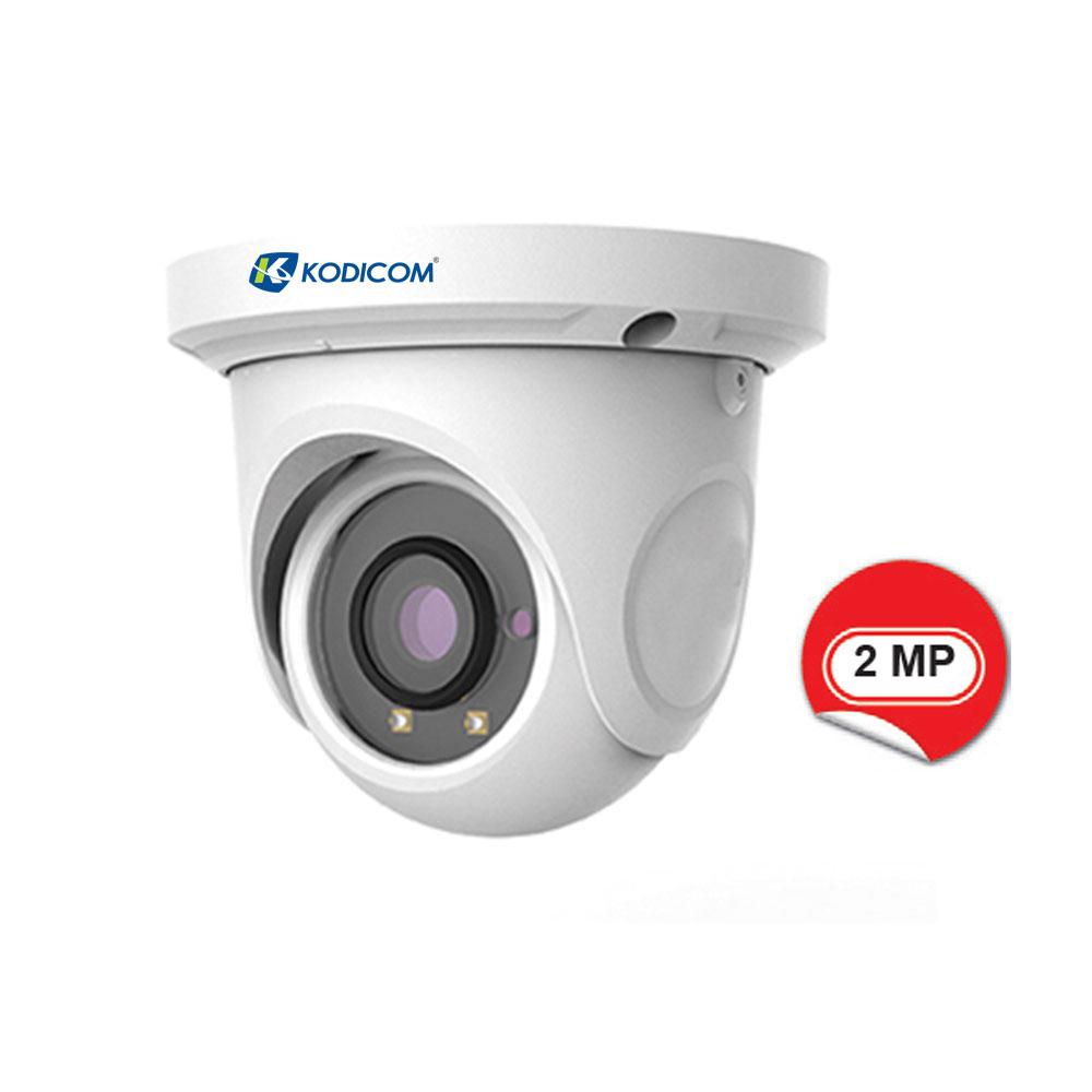 Kodicom KD-9524S1 2 Megapiksel 1080p IR Dome IP Kamera