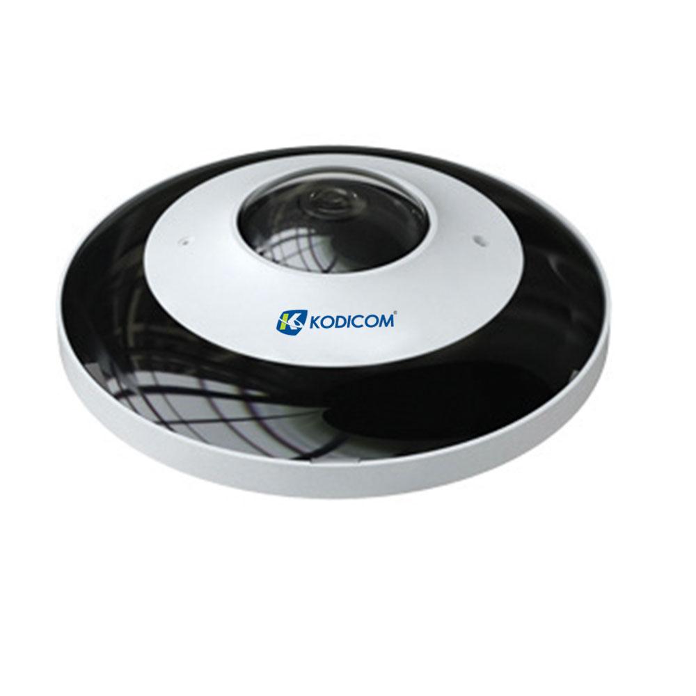 Kodicom KD-9568E2 6 Megapiksel Fisheye IP Kamera