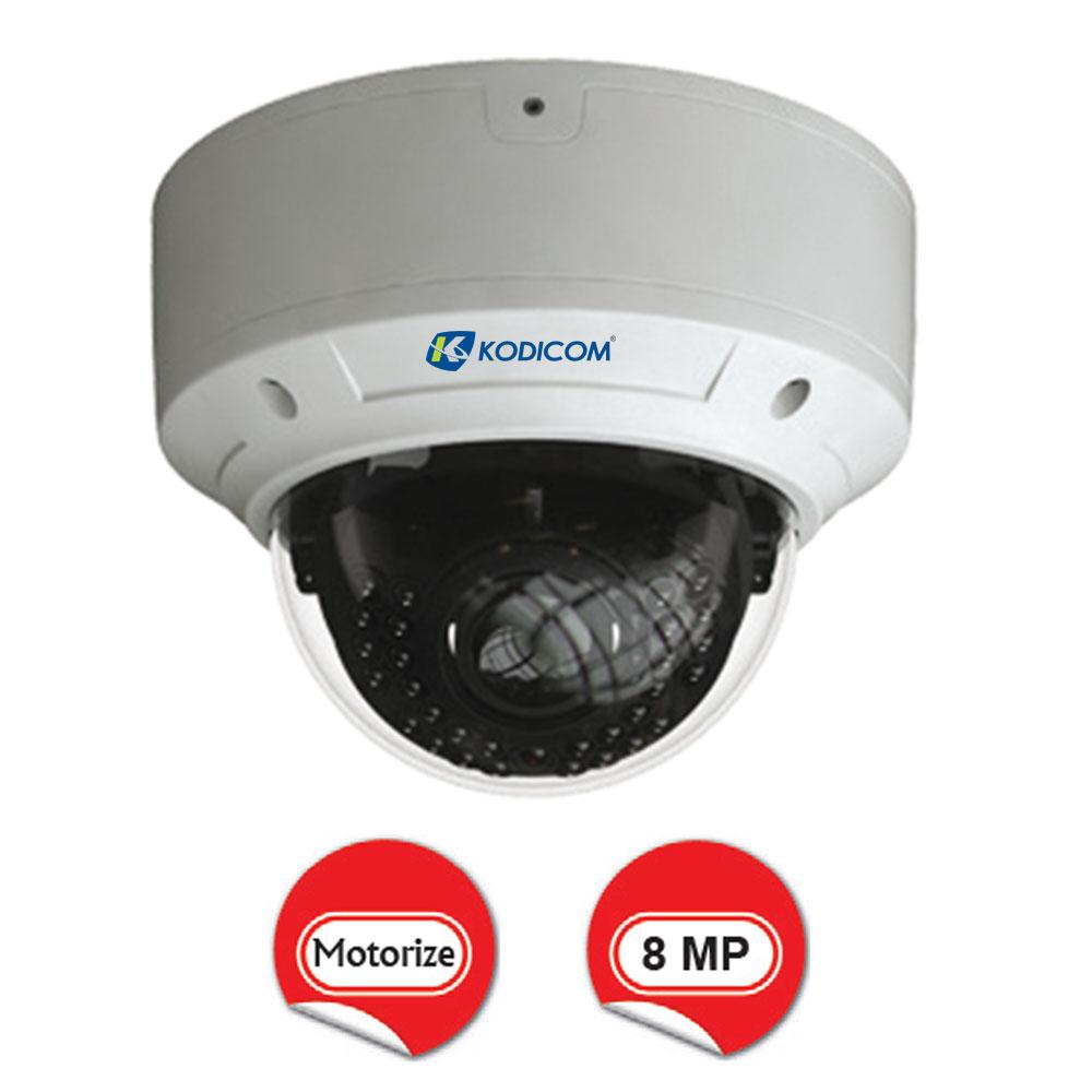 Kodicom KD-9583E2 8 Megapiksel Motorize Dome IP Kamera