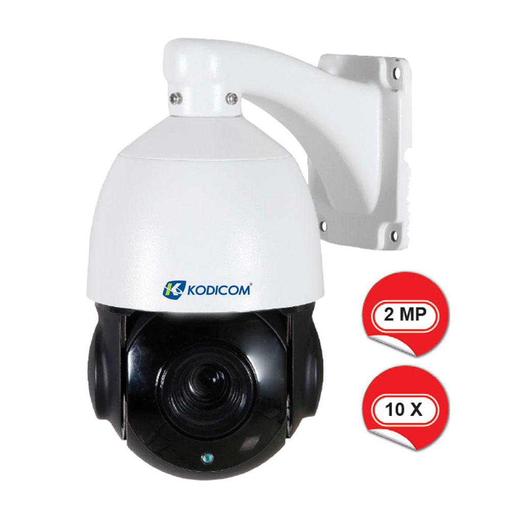 Kodicom KD-9610-10X 2 Megapiksel 1080p Speed Dome IP Kamera