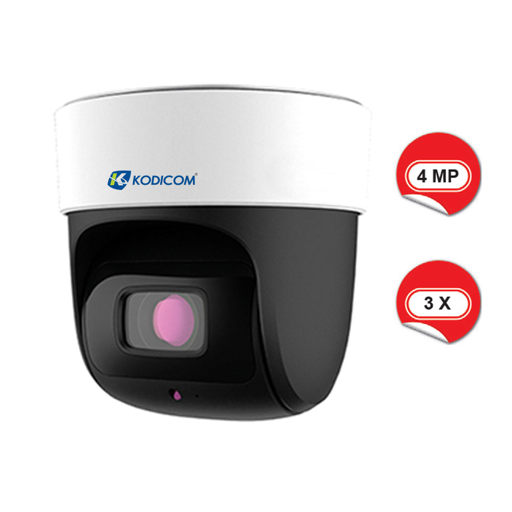Kodicom KD-9649E2-3X 4 Megapiksel İç Ortam Speed Dome IP Kamera