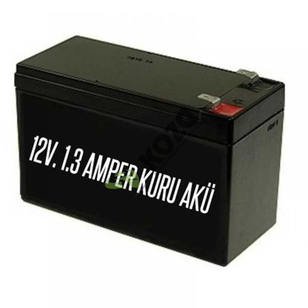AKÜ 12V 1.3 Amper Dış siren aküsü