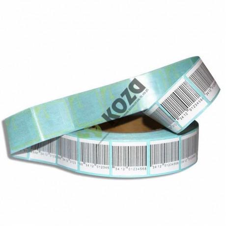 5X5 RF Kağıt Etiket