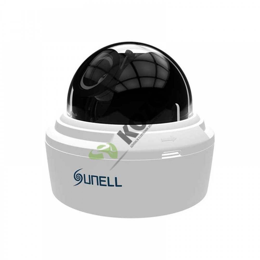 Sunell SN-IPD54/31VDN 3 Megapiksel Day & Night Dome IP Kamera