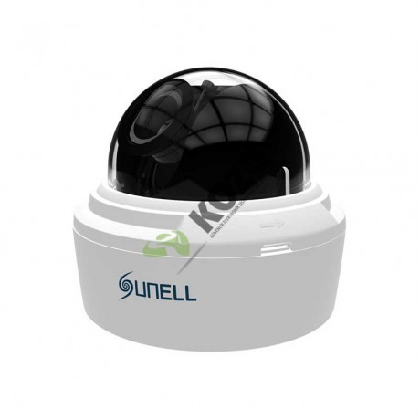 Sunell SN-IPD54/40VDN 5 Megapiksel Day & Night Dome IP Kamera