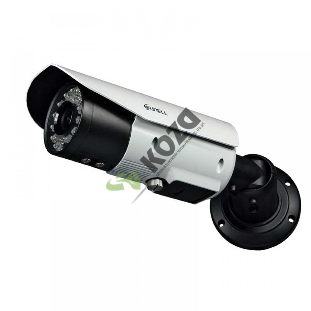 Sunell SN-IPR54/31AKDN WDR 3 Megapiksel IR Large Bullet IP Kamera
