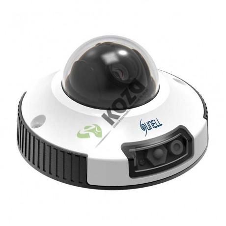 Sunell SN-IPV54/04ZDR 2 Megapiksel Mini Dome IP Kamera