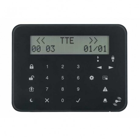 Teletek Eclipse LCD32S PR Tuş Takımı - Keypad