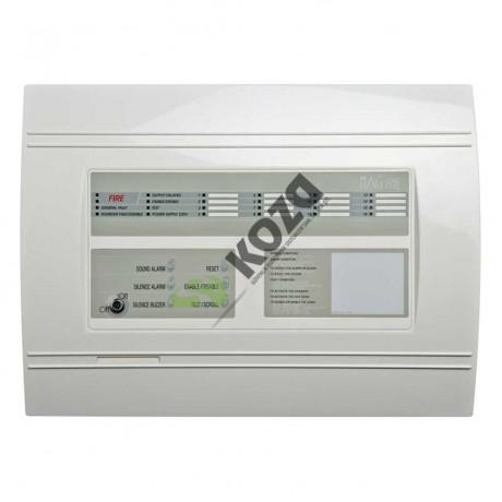 Teletek MAG 8Plus 8 Zone Konvansiyonel Yangın Alarm Paneli