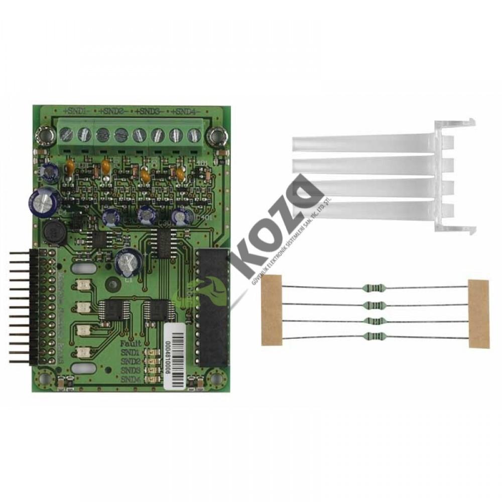 Teletek MS4 Siren Genişleme Modülü