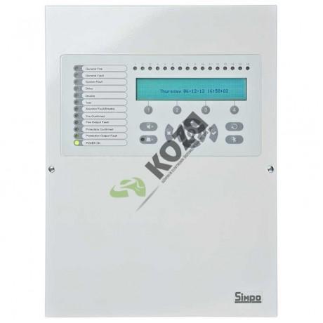 Teletek SIMPO 2 Loop Adresli Yangın İhbar Paneli
