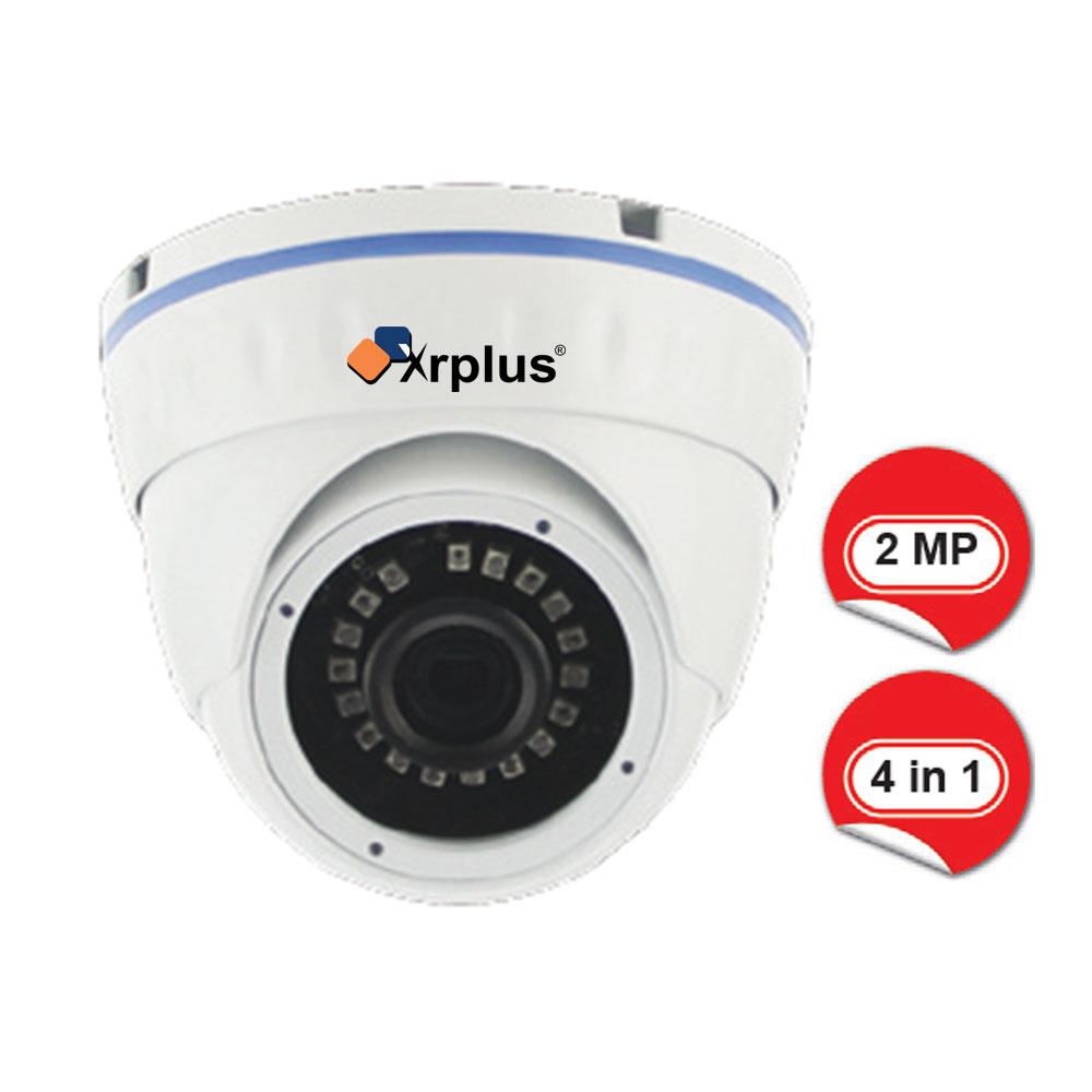 Xrplus XR-104-AHD / 2 Megapiksel 1080p IR Ledli Dome AHD Kamera