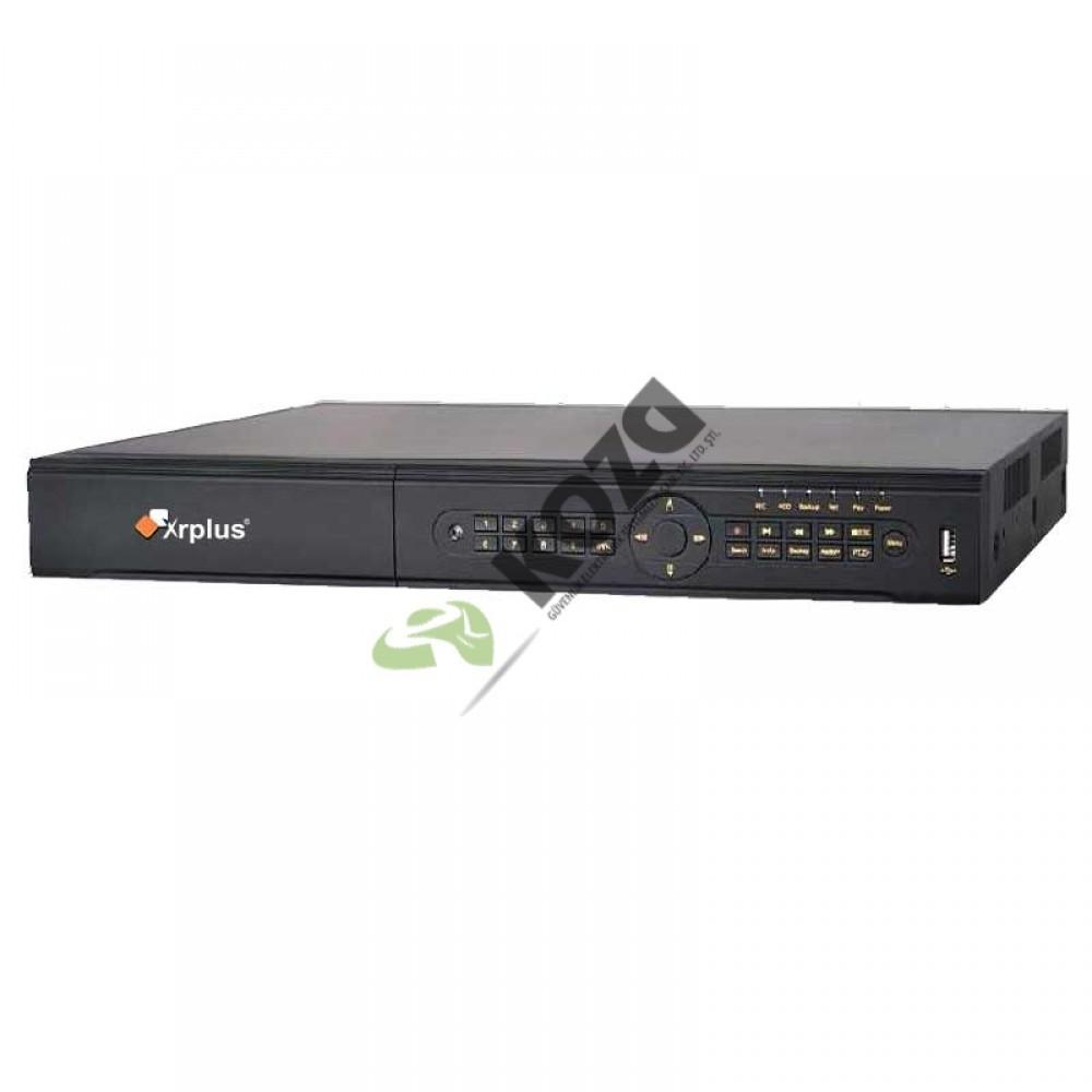 Xrplus XR-2832-PE-C8 32 Kanal 4Megapiksel PoE NVR IP Kayıt Cihazı