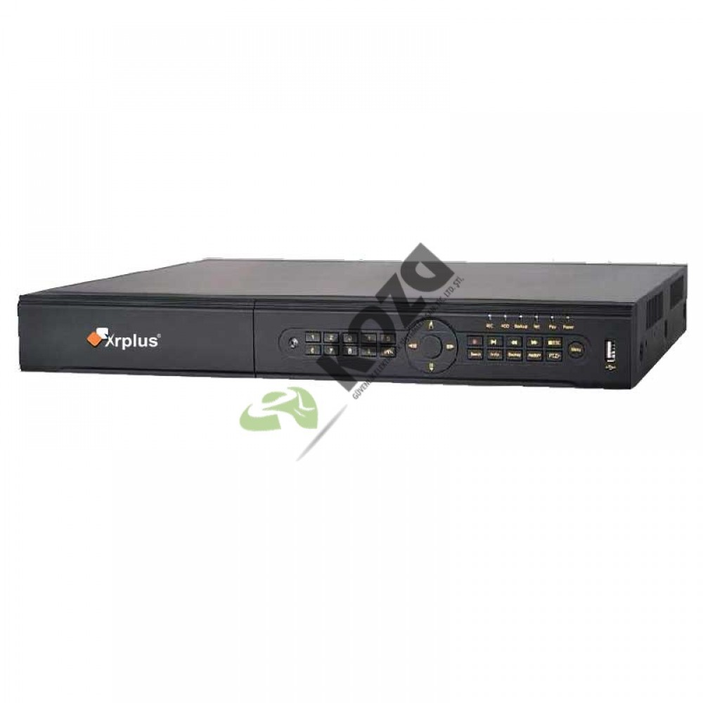 Xrplus XR-2832NE-C 32 Kanal 4 Megapiksel NVR IP Kayıt Cihazı