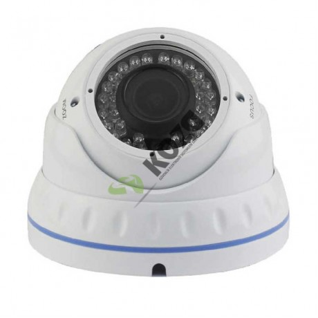 Xrplus XR-7523 TS 2.4 Megapiksel 1080p HD-TVI IR Dome Kamera